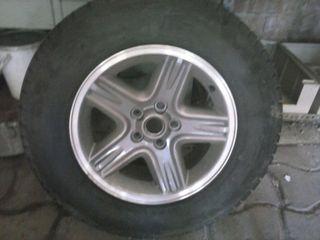 rueda para 4/4 con llanta aluminio