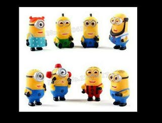 Pack 8 minions.