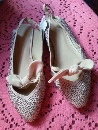Ballerines chaussures plates Zara Neuves