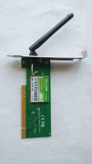 Tarjeta pci wifi TP-Link ordenador