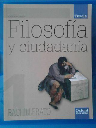 Filosofia y ciudadanía 1° BACH.
