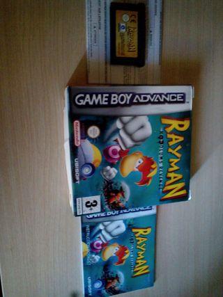 Juego Rayman para gameboy con caja e instrucciones