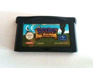 Spyro Adventure Gameboy Advance Game Boy DS Nintendo