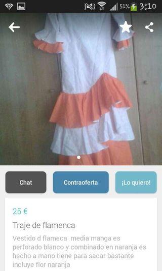 Vestido de flamenca