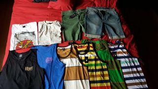 Lote camisetas skate matix pantalones