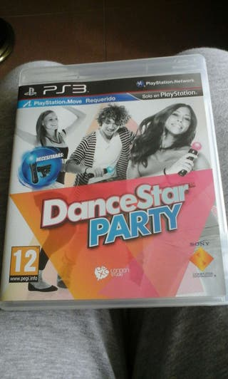 Juego ps3 Dancestar party