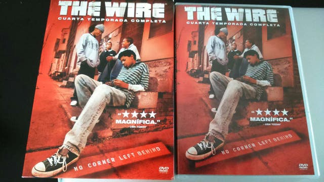 The Wire - Cuarta temporada de segunda mano por 5 € en Valencia en ...
