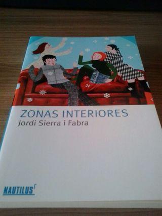 Libro lectura zonas interiores