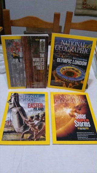 Colección revistas National Geographic