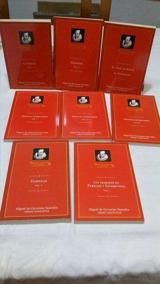 Libro obras de Miguel de Cervantes