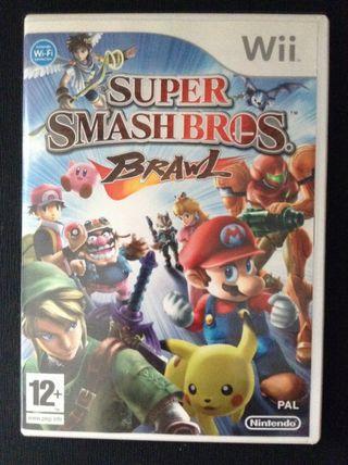 Super Smash Bros: Brawl para Nintendo Wii