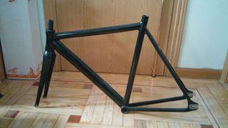 Cuadro bicicleta fixie talla 53