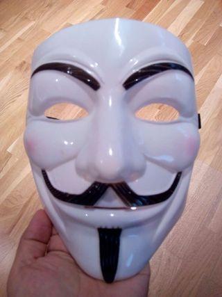 Mascarrilla V de Vendetta Anonymous