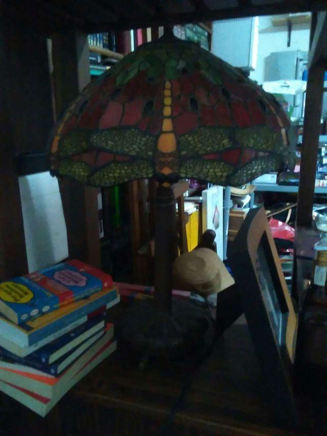 Lámpara estilo tiffanys