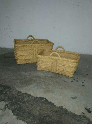 cestos de esparto