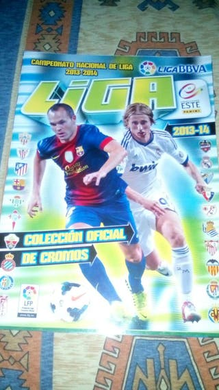 Album cromos liga futbol