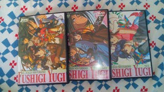 Fushigi yugi. Tres primeros dvds.