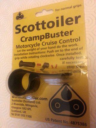 Scottoiler Crampbuster Estándar.(Control de crucero para moto)