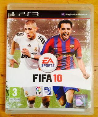 JUEGO FIFA10 PS3