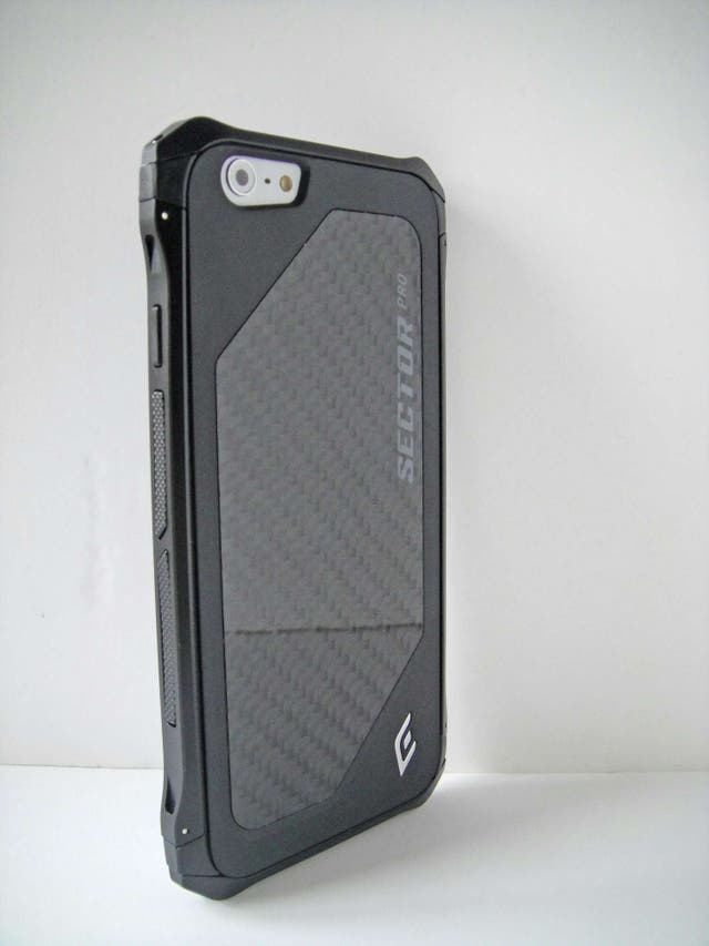 28e80025b5d #maravillas Funda IPhone 6 Plus 6s Plus Element Case Sector Pro NEGRA ...