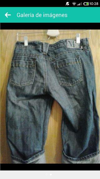 Pantalones vaqueros mango