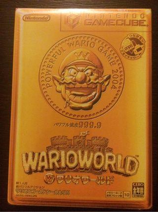Gamecube warioworld Japan NUEVO