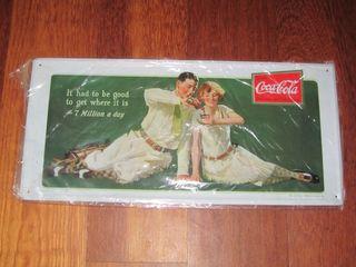 Placas Decoracion Metalicas Coca-Cola