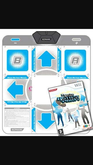 Wii, alfombra, wii fit, juegos varios y más accesorios