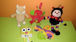 LOTE 5 PELUCHES