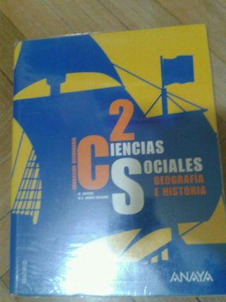 Libro ciencias sociales 2 ESO