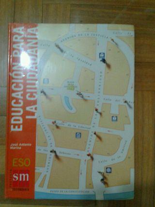 Libro Educacion para la ciudadania ESO