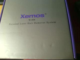 Depiladora Xemos laser sin uso