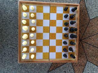 Tablero ajedrez-damas-backgammon