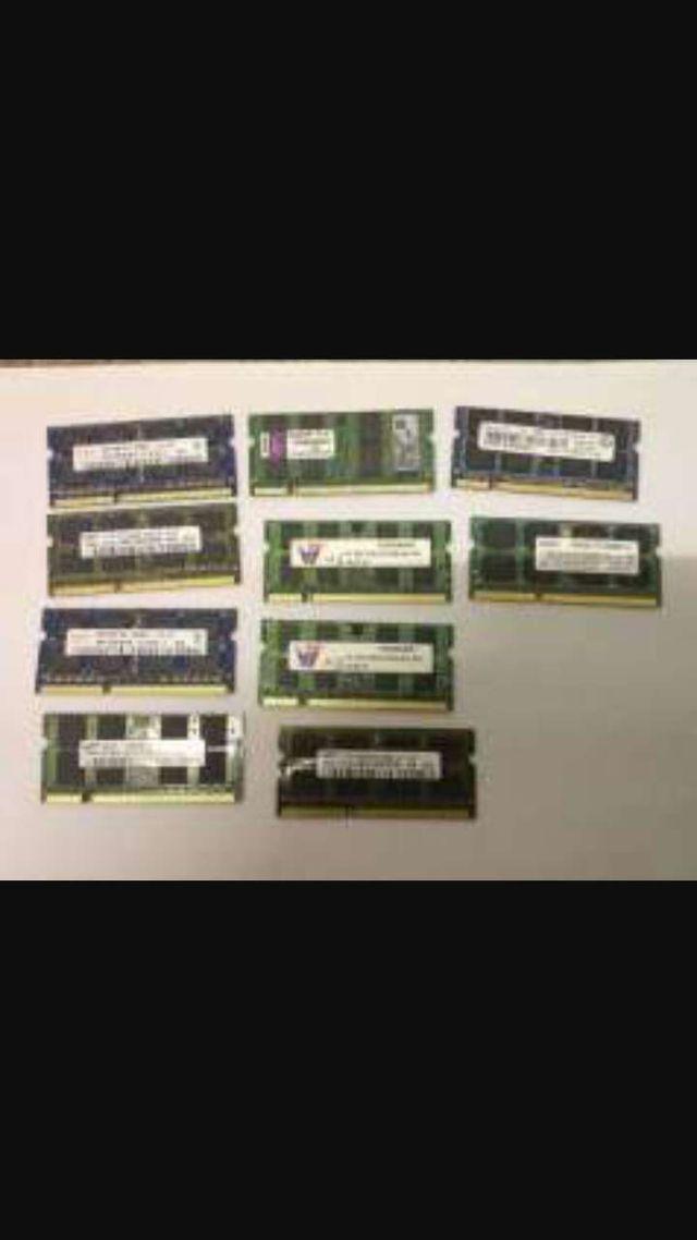 Memoria ram de pc y portátiles