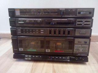 Minicadena antigua Sony