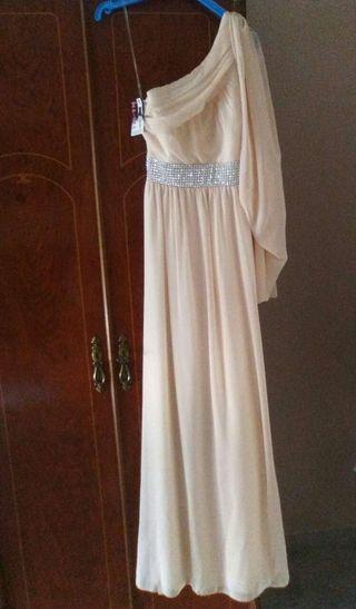 61a4d6bb04 Vestido de fiesta Rosa Clara de segunda mano en Sevilla en WALLAPOP