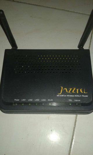 Router de jazztel antiguo