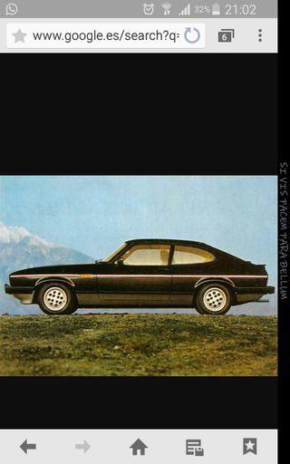 Grupo trasero Ford capri 2.8i