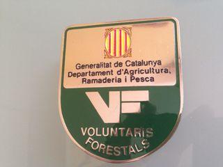 Placa Escudo VF Generalitat de Catalunya