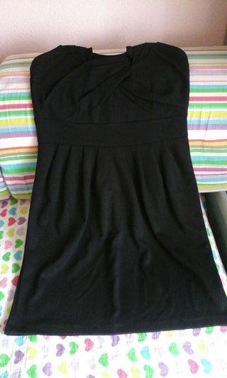 Vestido negro de fiesta talla 40 de H&M