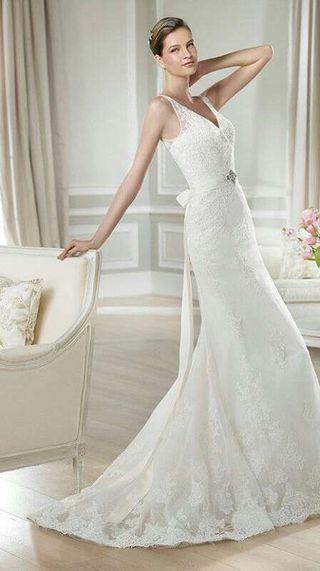 vestido de novia talla 40 de segunda mano en murcia en wallapop