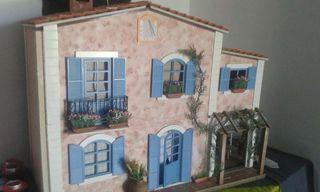 Casita rústica mediterránea en miniatura