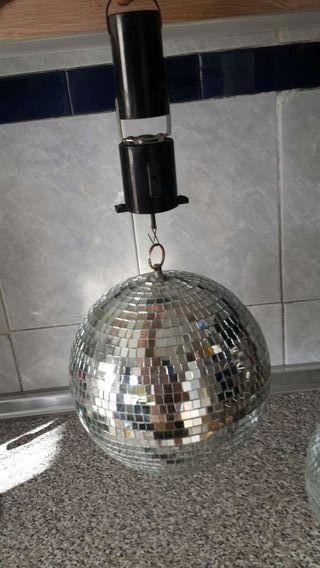 2 bolas de discotecas