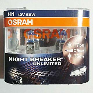 Lamparas H1 55w Osram Night Breaker Unlimited