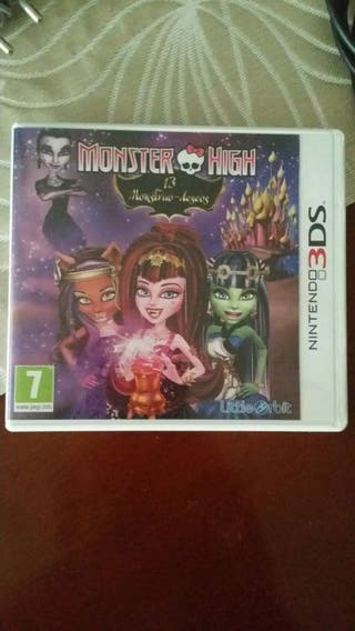 Juego Monster high 3ds
