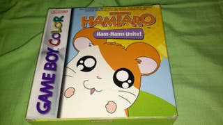 Hamtaro gameboy color