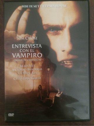Pelicula Dvd Entrevista Con Un Vampiro