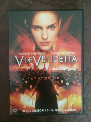 Pelicula Dvd V DE VENDETTA