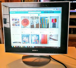 Vendo monitor Sony 17""