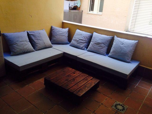 Muebles palets de segunda mano por 350 en arroyomolinos for Wallapop madrid muebles